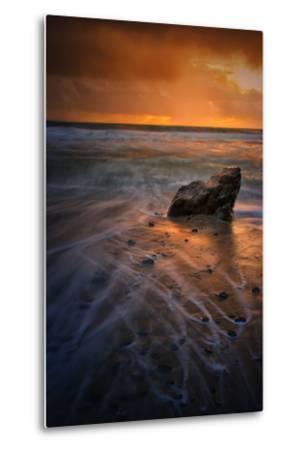 Stormy Seascape at Pfeiffer Beach, Big Sur, California Coast-Vincent James-Metal Print