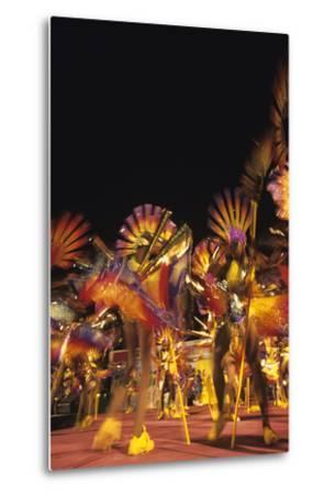 Carnival, Kingstown, St. Vincent--Metal Print