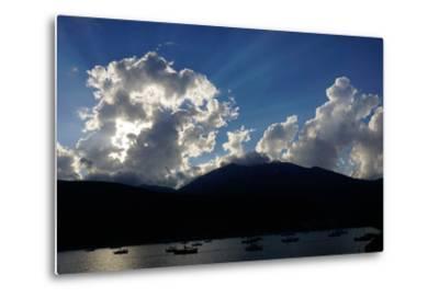 Clouds Near Nidri, Lefkada (Lefkas), Greek Islands, Ionian Sea, Greece-Robert Harding-Metal Print
