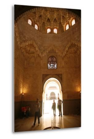 Palacio De Los Leones, One of the Three Palaces That Forms the Palacio Nazaries, Alhambra-Yadid Levy-Metal Print
