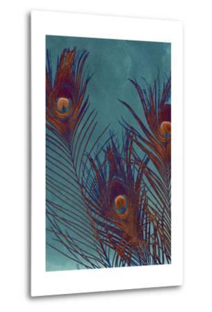 Luxe Plumes I-Jason Johnson-Metal Print