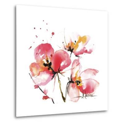 Blooms Hermanas IV-Leticia Herrera-Metal Print