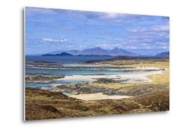 Sanna Beaches, Ardnamurchan Peninsula, Lochaber, Highlands, Scotland, United Kingdom-Gary Cook-Metal Print