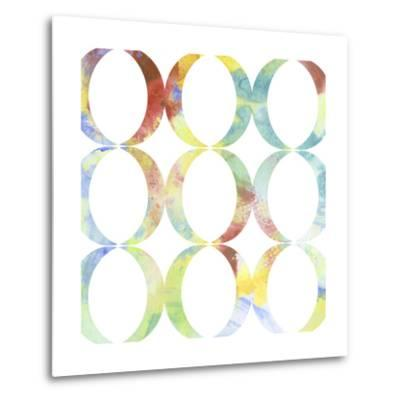 Metric Watercolors V-Jennifer Goldberger-Metal Print