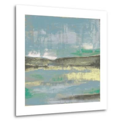 Cool Horizon III-Jennifer Goldberger-Metal Print