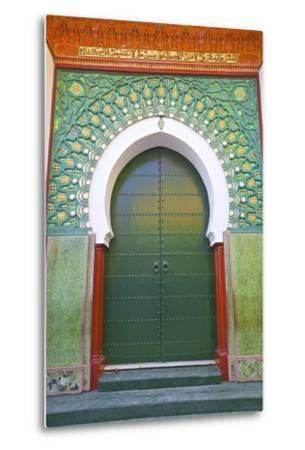 Entrance to Mosque, Tangier, Morocco, North Africa, Africa-Neil Farrin-Metal Print