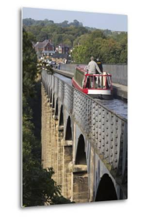 Pontcysyllte Aqueduct, Built 1795 to 1805, and the Ellesmere Canal-Stuart Black-Metal Print