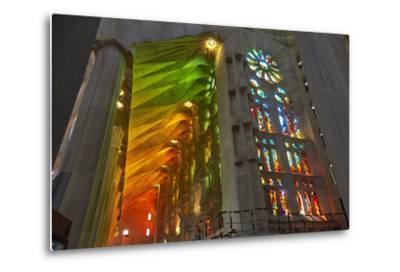 Sagrada Familia, Barcelona, Catalonia, Spain-Mark Mawson-Metal Print
