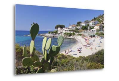 Beach of Seccheto, Island of Elba, Livorno Province, Tuscany, Italy-Markus Lange-Metal Print