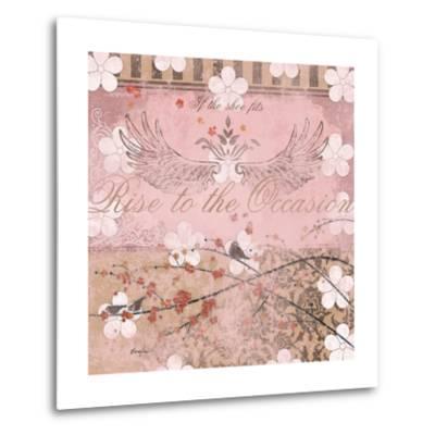 Haute in Pink II-Evelia Designs-Metal Print