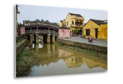 Japanese Covered Bridge, Hoi An, UNESCO World Heritage Site, Vietnam, Indochina-Yadid Levy-Metal Print