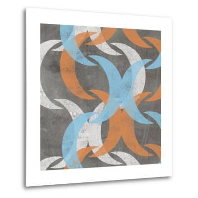 Graphic Wave I-Jennifer Goldberger-Metal Print