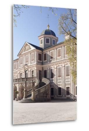 Schloss Favorite Castle, Rastatt, Black Forest, Baden-Wurttemberg, Germany, Europe-Markus Lange-Metal Print