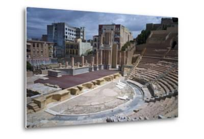 The Roman Theatre, Cartagena, Spain-Rob Cousins-Metal Print