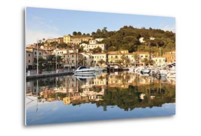 Harbour of Porto Azzurro, Island of Elba, Livorno Province, Tuscany, Italy-Markus Lange-Metal Print