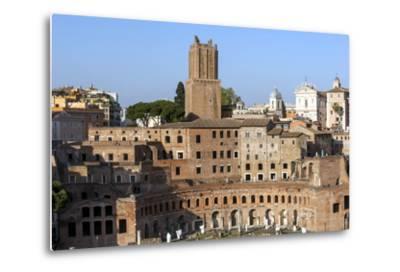 Trajans Markets, Ancient Rome, Rome, Lazio, Italy-James Emmerson-Metal Print