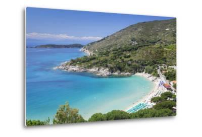 Beach of Cavoli, Island of Elba, Livorno Province, Tuscany, Italy-Markus Lange-Metal Print