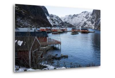 Nusfjord, Lofoten Islands, Arctic, Norway, Scandinavia-Sergio Pitamitz-Metal Print
