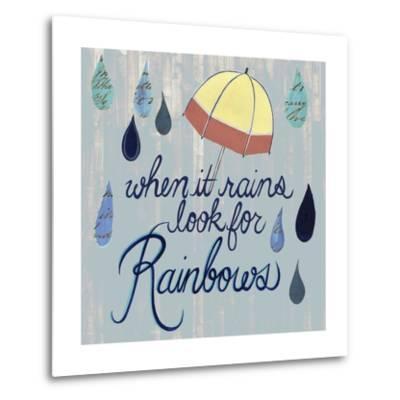 Rainy Day I-Grace Popp-Metal Print