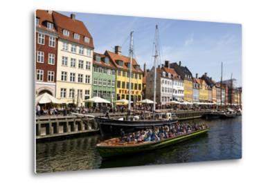 Nyhavn, Copenhagen, Denmark, Scandinavia, Europe-Yadid Levy-Metal Print