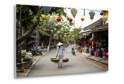 Street Scene, Hoi An, Vietnam, Indochina, Southeast Asia, Asia-Yadid Levy-Metal Print