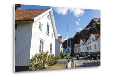 Houses in Fjallbacka, Bohuslan Region, West Coast, Sweden, Scandinavia, Europe-Yadid Levy-Metal Print