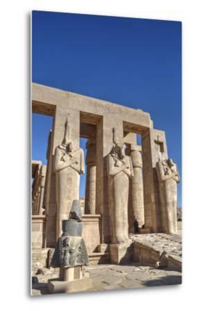 Hypostyle Hall, the Ramesseum (Mortuary Temple of Ramese Ii), Luxor-Richard Maschmeyer-Metal Print