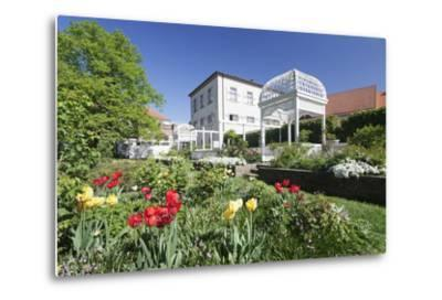 Rosengarten (Rose Garden) in Spring, Ettlingen, Baden-Wurttemberg, Germany, Europe-Markus Lange-Metal Print