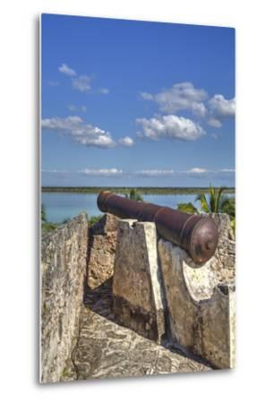 Old Cannon, Ramparts of San Felipe Fort, Built in 1733-Richard Maschmeyer-Metal Print