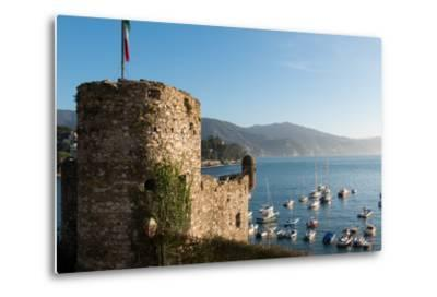 The 16th Century Castle, Santa Margherita Ligure, Genova (Genoa), Liguria, Italy, Europe-Carlo Morucchio-Metal Print