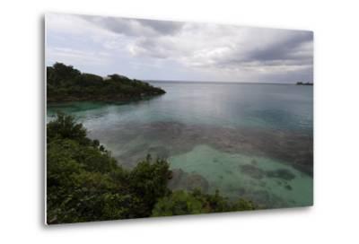 Discovery Bay, Where Christopher Columbus Landed, Ocho Rios-Sergio Pitamitz-Metal Print