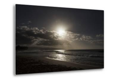 The Sun Sets as the Tide Rolls In-Deanne Fitzmaurice-Metal Print