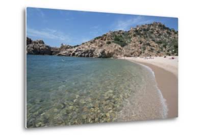 Li Cossi Beach at Costa Paradiso, Sardinia, Italy, Mediterranean-Ethel Davies-Metal Print