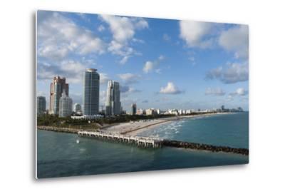 South Beach, Miami Beach, Florida, United States of America, North America-Sergio Pitamitz-Metal Print