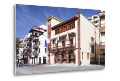 Town Hall at Plaza De Las Americas Square, San Sebastian, La Gomera, Canary Islands, Spain, Europe-Markus Lange-Metal Print