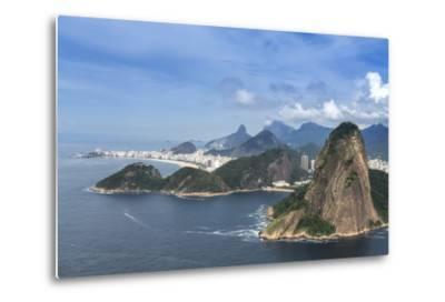 Aerial View of the Sugar Loaf-Alex Robinson-Metal Print