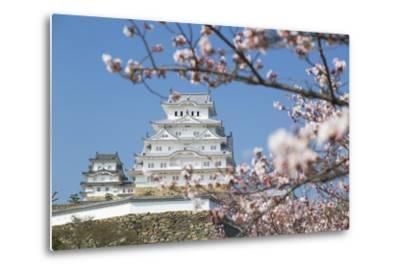 Himeji Castle, Himeji, Kansai, Honshu, Japan-Ian Trower-Metal Print