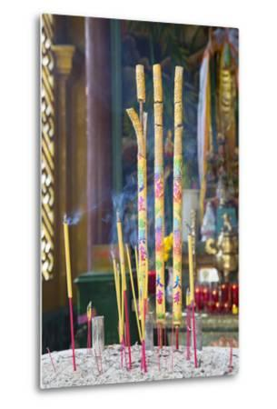 Phuoc an Hoi Quan Pagoda, Cholon, Ho Chi Minh City, Vietnam, Indochina, Southeast Asia, Asia-Ian Trower-Metal Print