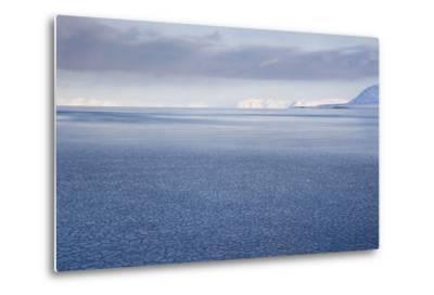 View from Longyearbyen to Adventfjorden Fjord-Stephen Studd-Metal Print