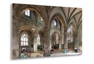 Interior Looking Northeast, St. Giles' Cathedral, Edinburgh, Scotland, United Kingdom-Nick Servian-Metal Print