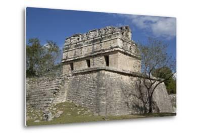 The Red House, Casa Colorado, Chichen Itza, Yucatan, Mexico, North America-Richard Maschmeyer-Metal Print