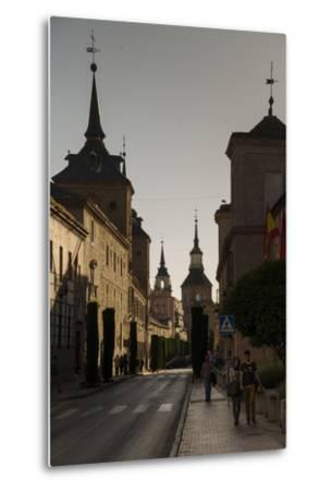 Alcala De Henares, Province of Madrid, Spain-Michael Snell-Metal Print