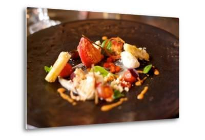 Lunch Starter Dish at a Restaurant in the Woodstock Neighborhood of Cape Town-Krista Rossow-Metal Print