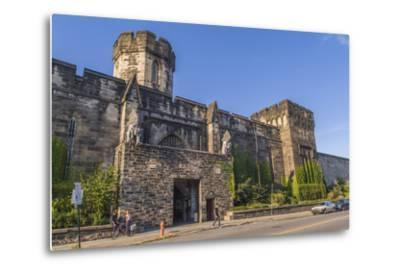The Gothic Style Eastern State Penitentiary Built in the Early 19th Century in Philadelphia-Richard Nowitz-Metal Print