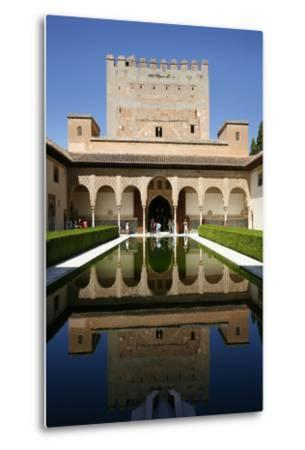Palacio De Comares, One of the Three Palaces That Forms the Palacio Nazaries, Alhambra-Yadid Levy-Metal Print
