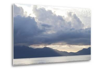 View of Sunset from the Coast of Bako National Park-Gabby Salazar-Metal Print