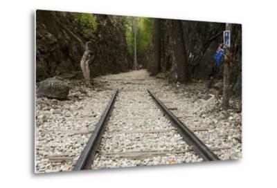 Hellfire Pass Museum, on the Infamous Thai-Burmese Death Railway-Alex Robinson-Metal Print