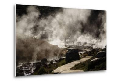 Geothermal Fields at Krysuvik, Reykjanes Peninsula, Iceland, Polar Regions-Yadid Levy-Metal Print