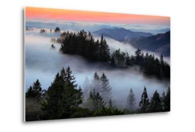 In A Dream of Fog Mount Tamalpais San Francisco-Vincent James-Metal Print