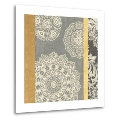 Contemporary Lace II--Metal Print